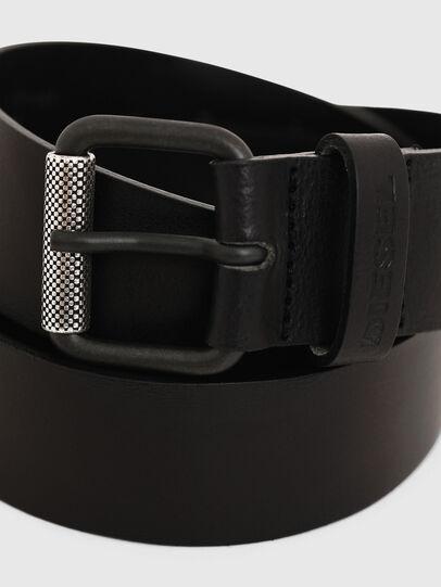 Diesel - B-PLATE, Black - Belts - Image 2