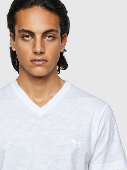 Diesel - T-NORRIE, White - T-Shirts - Image 3