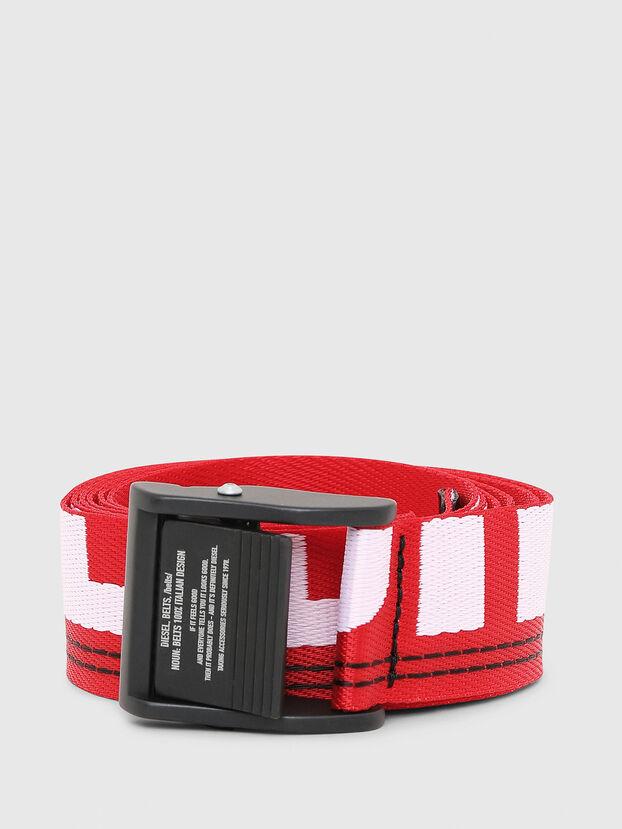 B-MASER, Fire Red - Belts