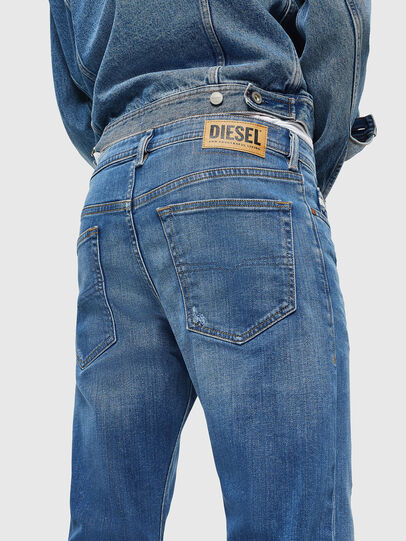 Diesel - Buster 083AX, Light Blue - Jeans - Image 3