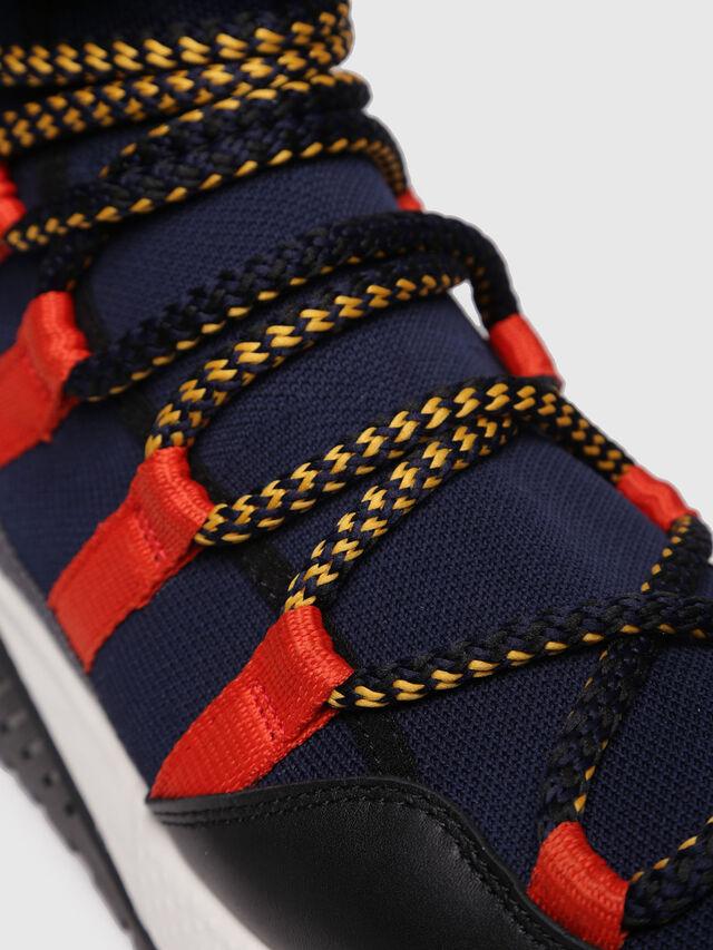 Diesel - S-KB LOOP SOCK, Black/Red - Sneakers - Image 4