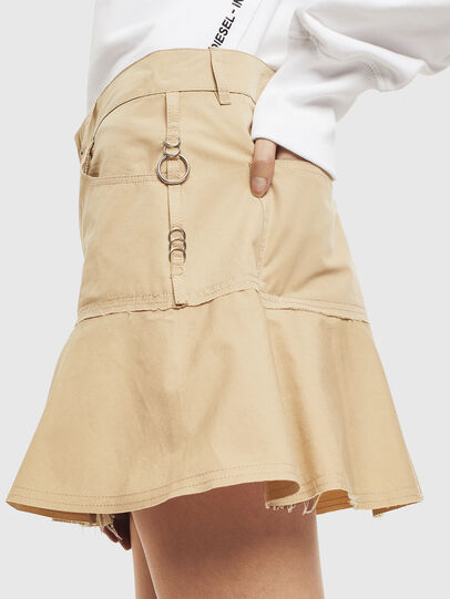 Diesel - O-BETH, Beige - Skirts - Image 5