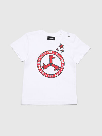 Diesel - TARTB, White - T-shirts and Tops - Image 1
