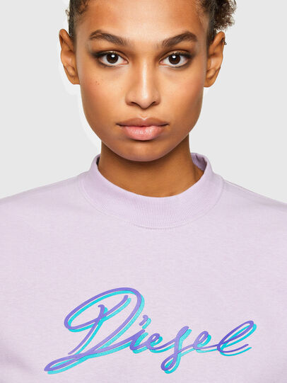 Diesel - F-ANG-K15, Lilac - Sweaters - Image 3