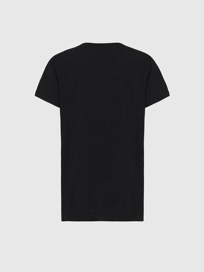 Diesel - T-DARIA-E31, Black - T-Shirts - Image 2