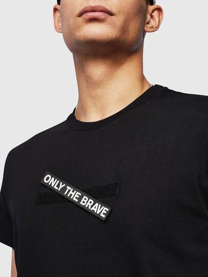 Diesel - T-DIEGO-T16, Black - T-Shirts - Image 3