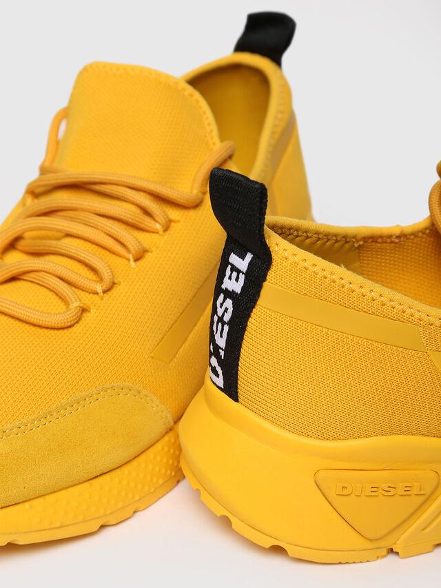 Diesel - S-KBY STRIPE, Yellow - Sneakers - Image 4