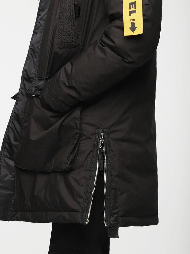 Diesel - W-BULLION, Black - Winter Jackets - Image 3