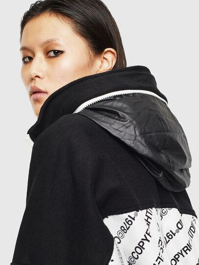 Diesel - G-MESHELLE, Black/White - Jackets - Image 3