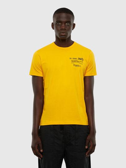 Diesel - T-DIEGOS-N21, Yellow - T-Shirts - Image 1