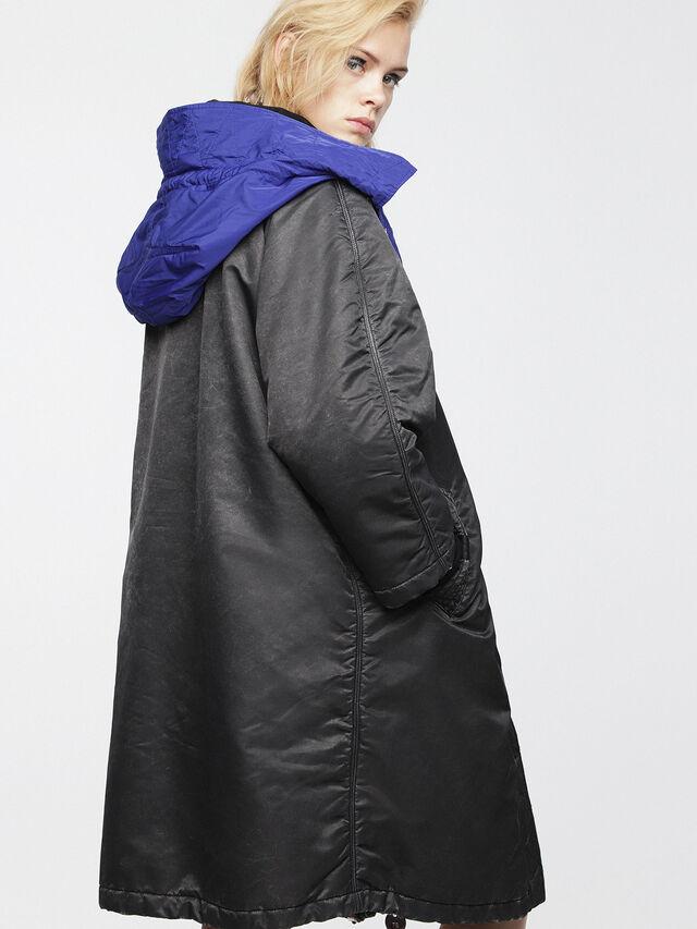 Diesel - W-ROME, Black/Blue - Winter Jackets - Image 2