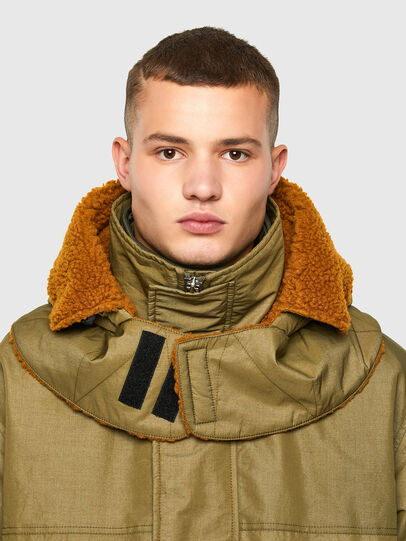 Diesel - W-STEVE, Military Green - Winter Jackets - Image 5