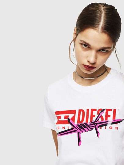 Diesel - T-SILY-ZC,  - T-Shirts - Image 4