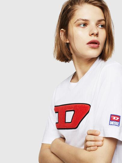 Diesel - T-JUST-DIVISION-D-FL,  - T-Shirts - Image 3