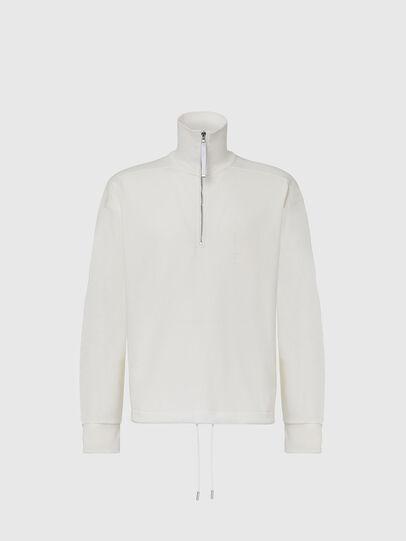 Diesel - S-STUFF, White - Sweaters - Image 1