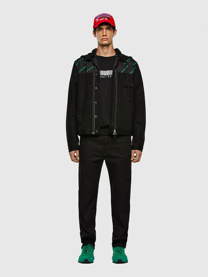 Diesel - D-COSMIC, Black - Denim Jackets - Image 7