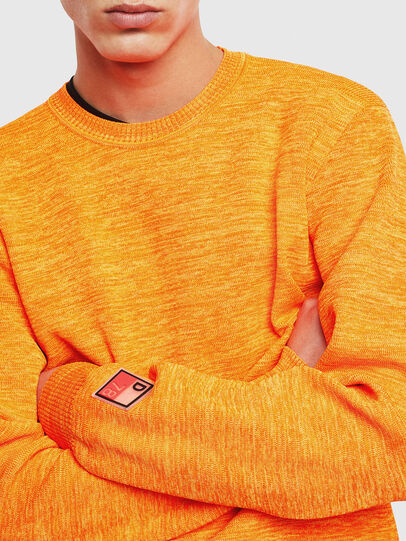 Diesel - K-SPECIALS, Orange - Knitwear - Image 3