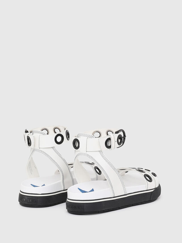 Diesel - SA-GRAND LCE, White/Black - Sandals - Image 3