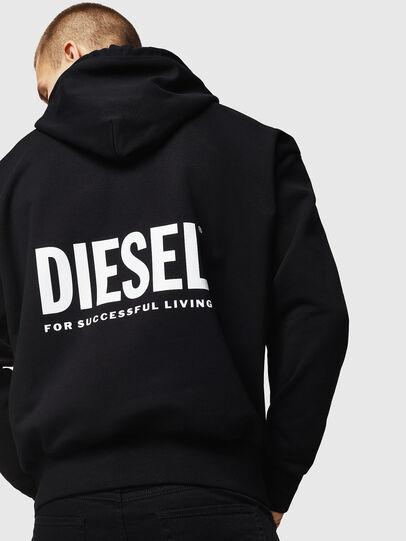 Diesel - LR-S-GIRK-HOOD-VIC, Black - Sweaters - Image 2