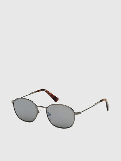 Diesel - DL0307, Grey - Sunglasses - Image 2