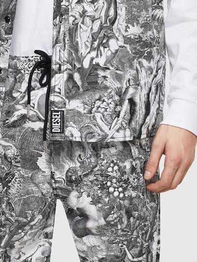 Diesel - S-WED-KAOS, Black/White - Shirts - Image 6