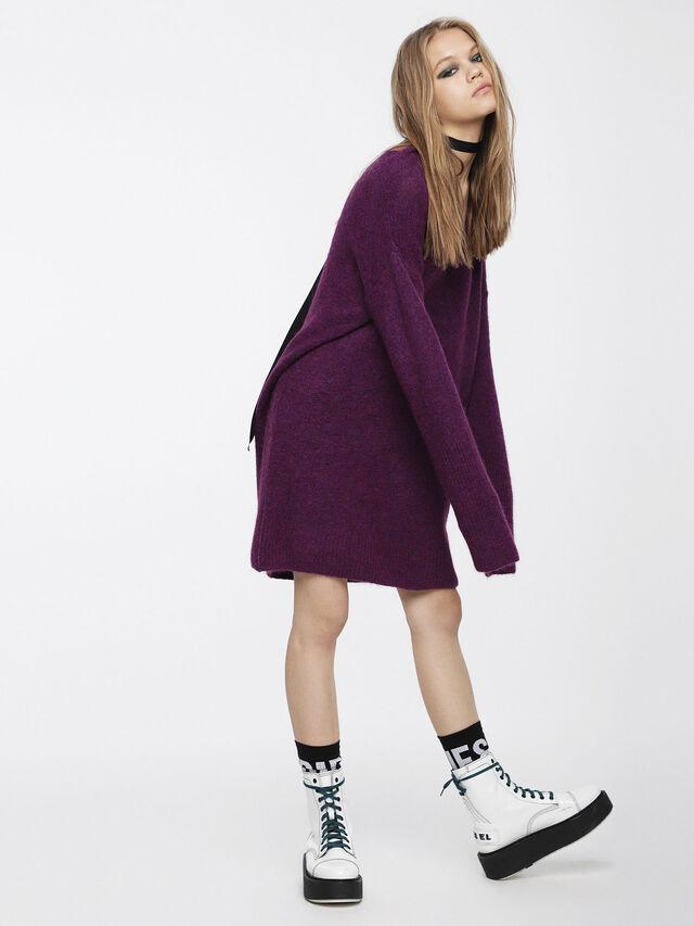 Diesel - M-SOFTY, Violet - Dresses - Image 3