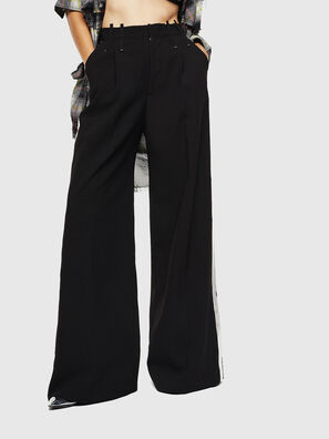P-MALIK-A, Black - Pants