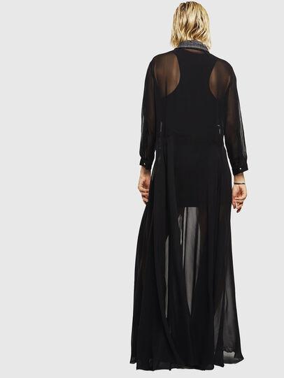 Diesel - D-RAHAN-A, Black - Dresses - Image 2
