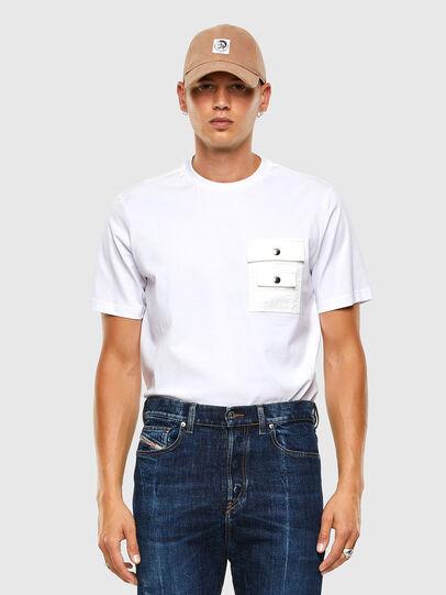 Diesel - T-TASK-SLITS, White - T-Shirts - Image 5