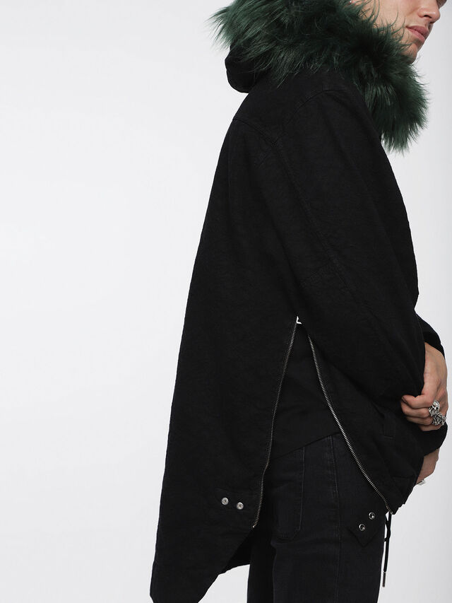 Diesel - D-ANNY, Black - Winter Jackets - Image 4