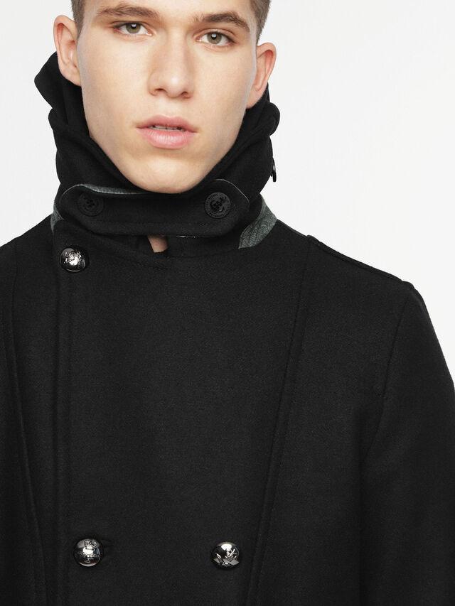 Diesel - W-BANFI, Black - Winter Jackets - Image 3