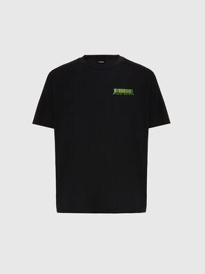 T-JUST-SLITS-X84, Black - T-Shirts
