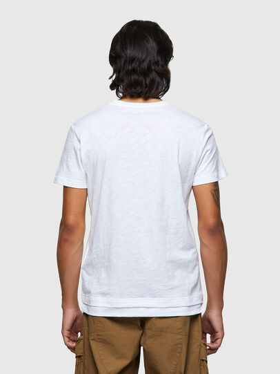 Diesel - T-NORRIE, White - T-Shirts - Image 2