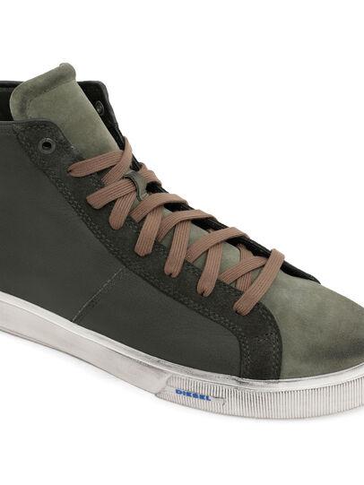 Diesel - S-MYDORI MC, Military Green - Sneakers - Image 4