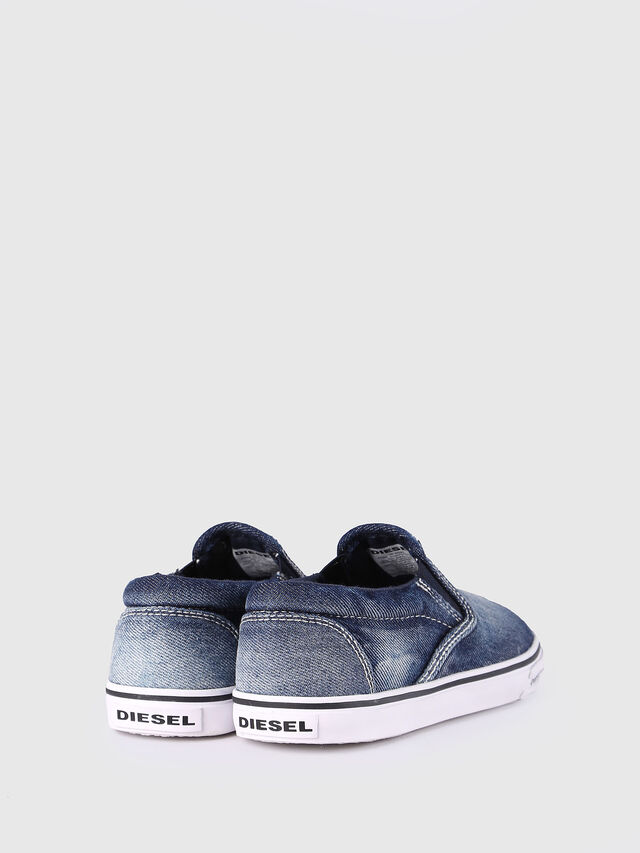 Diesel - SLIP ON 21 DENIM CH, Blue Jeans - Footwear - Image 3