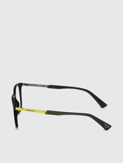 Diesel - DL5349, Black/Green - Eyeglasses - Image 3