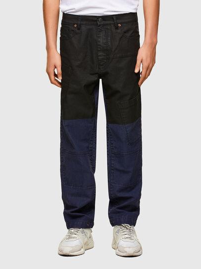 Diesel - D-Azerr JoggJeans® 0DDAY, Dark Blue - Jeans - Image 1
