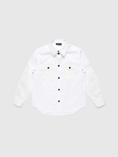 Diesel - CSKOSOV OVER, White - Shirts - Image 1