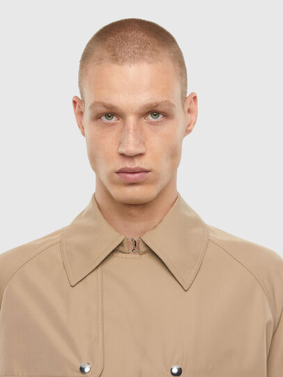 Diesel - J-JAY, Light Brown - Jackets - Image 3