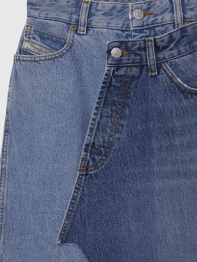 Diesel - DE-TOBY, Light Blue - Skirts - Image 3