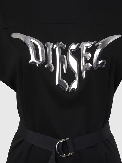 Diesel - D-FLIX-C, Black - Dresses - Image 4