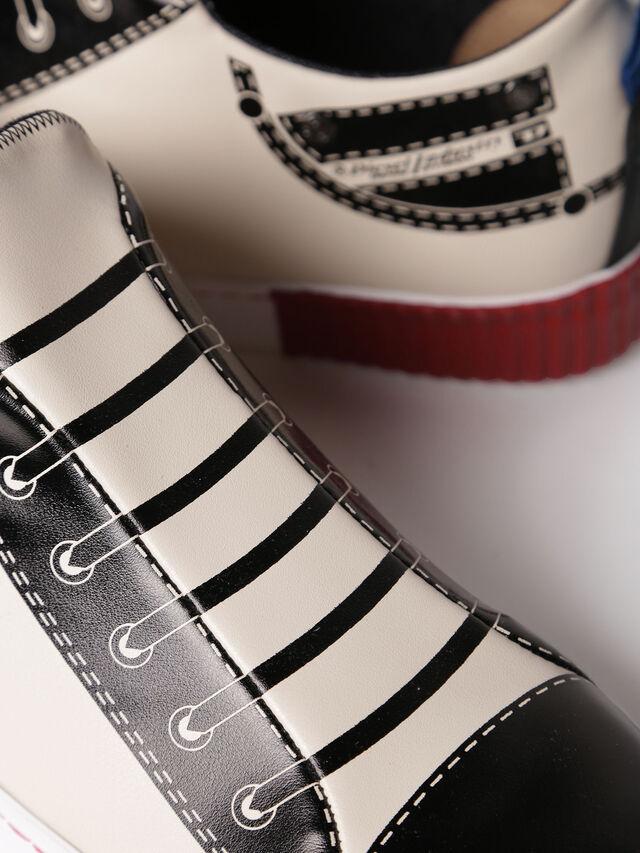 Diesel - S-DIESEL IMAGINEE LOW, White/Black - Sneakers - Image 4
