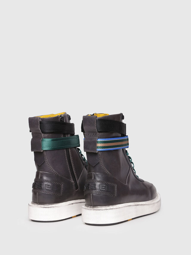 Diesel - H-CAGE HIGH ST, Opaque Black - Boots - Image 3