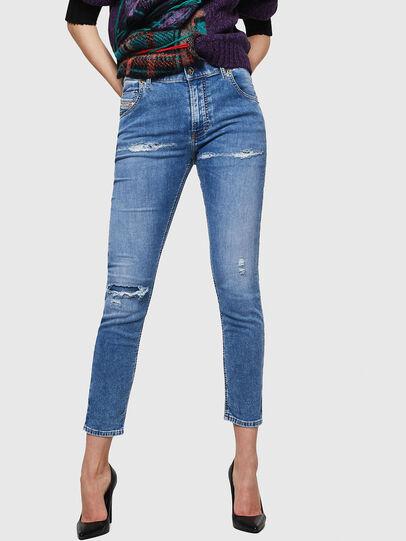 Diesel - Krailey JoggJeans 069IH, Light Blue - Jeans - Image 1