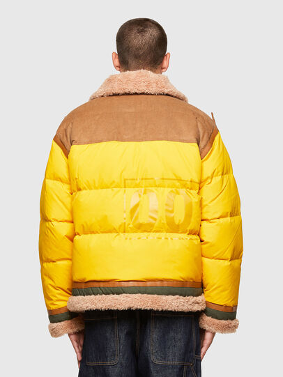 Diesel - W-EVAN-A, Yellow - Winter Jackets - Image 2