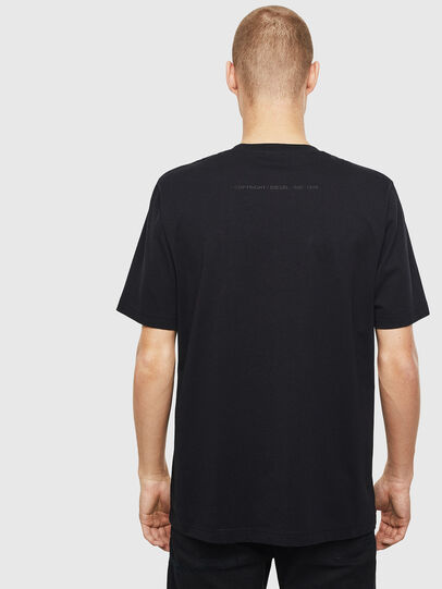 Diesel - T-JUST-T30, Black - T-Shirts - Image 2