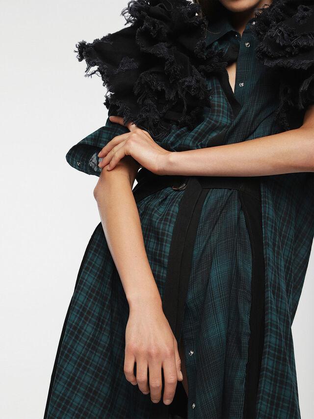 Diesel - D-BAGGY, Green/Black - Dresses - Image 5
