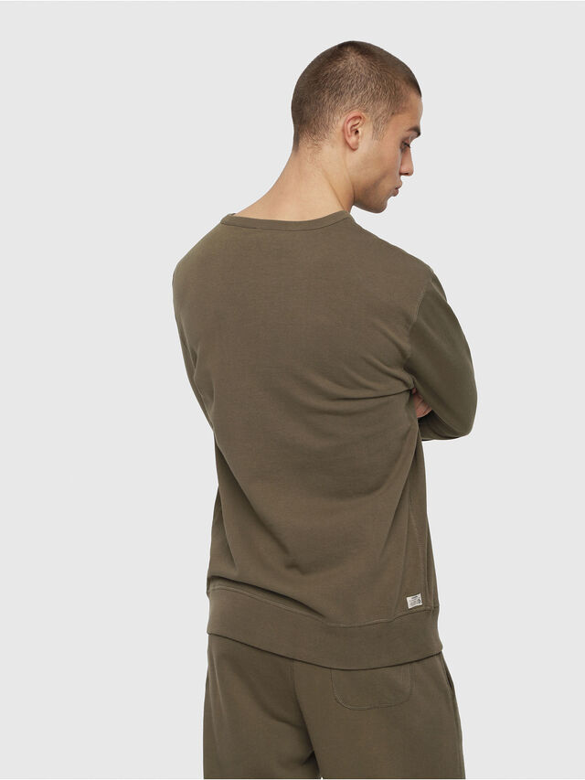 Diesel - UMLT-WILLY, Military Green - Sweaters - Image 2