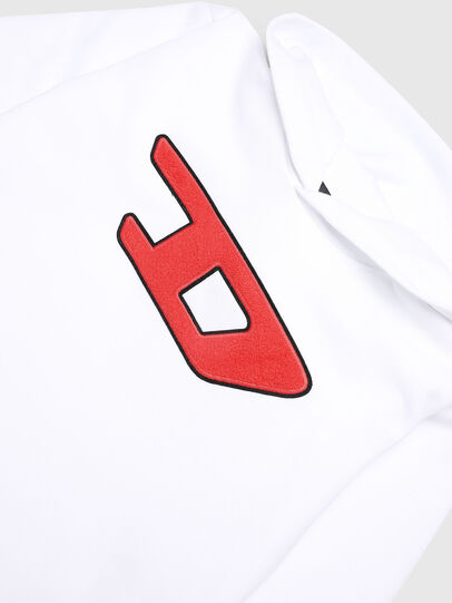 Diesel - SDIVISION-D OVER, White - Sweaters - Image 2