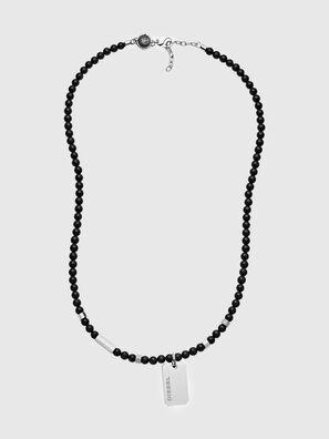 DX1157, Black/Silver - Necklaces